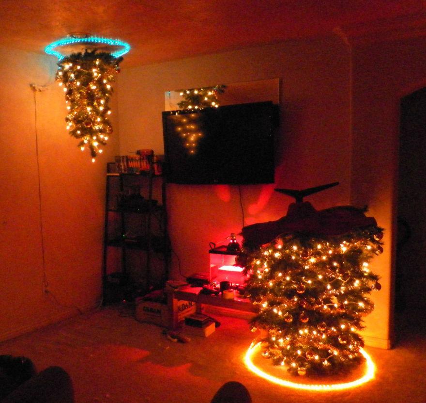 Những ý tưởng cực 'độc' cho cây thông Noel - Ảnh 7