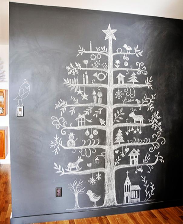 Những ý tưởng cực 'độc' cho cây thông Noel - Ảnh 8