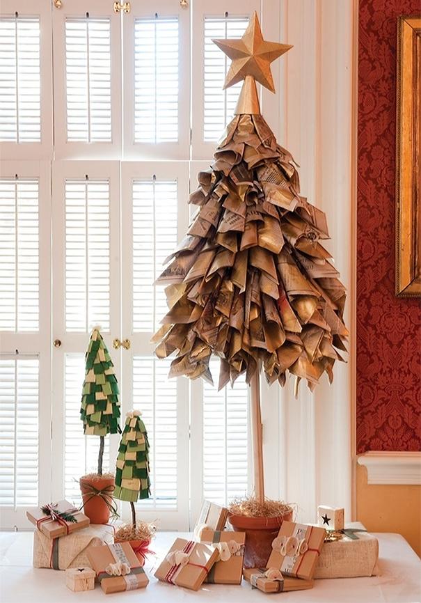 Những ý tưởng cực 'độc' cho cây thông Noel - Ảnh 9