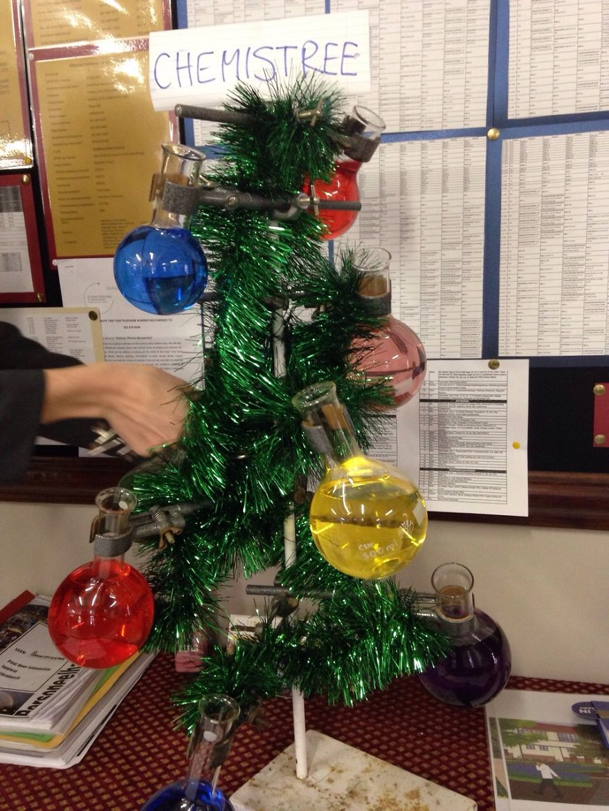 Những ý tưởng cực 'độc' cho cây thông Noel - Ảnh 10