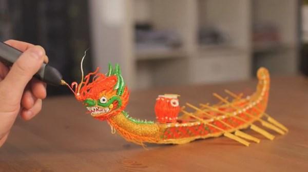 Chiếc bút vẽ 3Doodler tạo đồ vật độc đáo