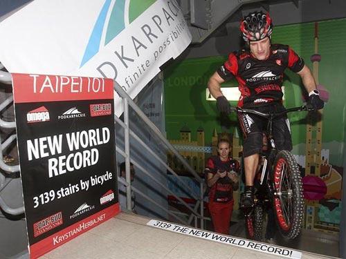 Krystian Herba lập kỷ lục thế giới mới
