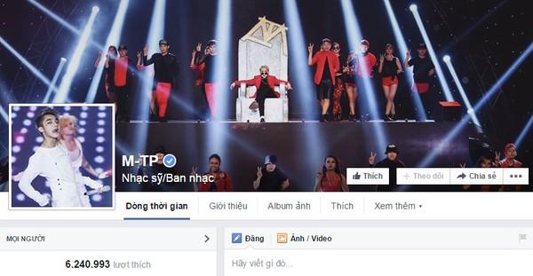 Fanpage của Sơn Tùng MTP