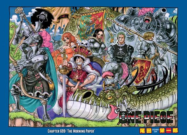 Truyện tranh One Piece chuẩn bị phá kỉ lục với 3,8 triệu bản