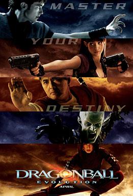 bộ phim Dragon Ball Evolution. Không có gì ngạc nhiên khi đây là một trong những bộ phim chuyển thể tệ hại nhất.