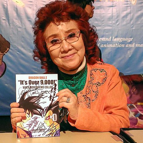 Nữ diễn viên lồng tiếng Masako Nozawa là người lồng tiếng cho cả Goku, Gohan và Goten.