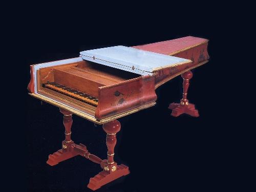 Cây dương cầm được Cristofori chế tạo năm 1726