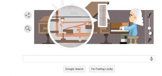 logo google hom nay - ai la nguoi phat minh ra dan piano