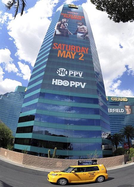 Võ đài MGM Grand, Las Vegas.