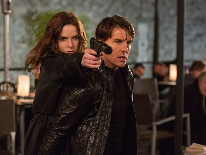 Một cảnh trong phim Mission: Impossible - Rogue Nation