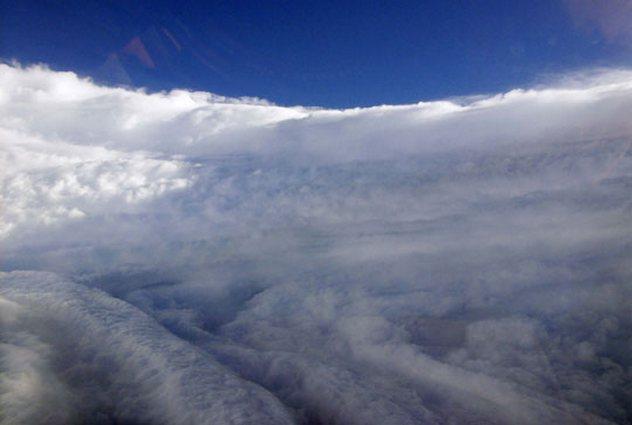 Vùng chính giữa mắt bão là nơi bình yên nhất của cơn bão. Dù vậy, điều này có thể thay đổi khá nhanh chóng.