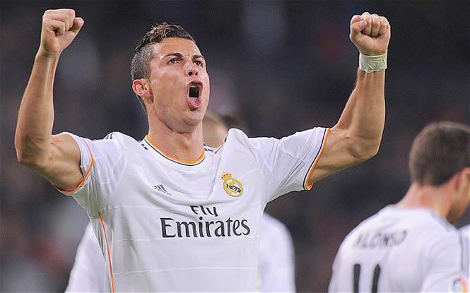 Cristiano Ronaldo, Josef Bican, Messi, Pelle, Romario, Pele, Puskas, Di Stefano, Hugo Sanchez
