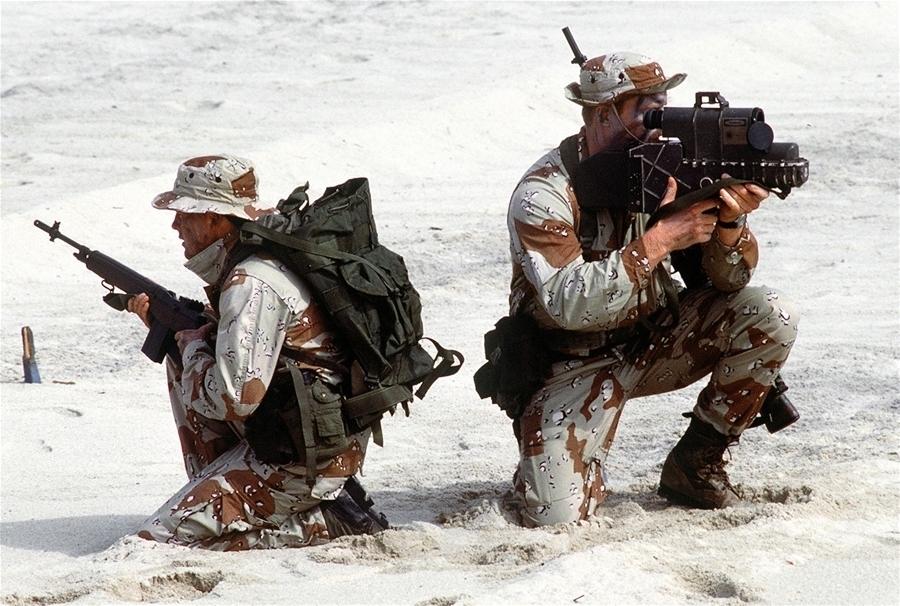Lính SEAL trong một buổi diễn tập. (Ảnh: WikiCommon)