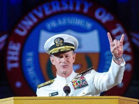 Đô đốc William H. McRaven. (Ảnh: AP)