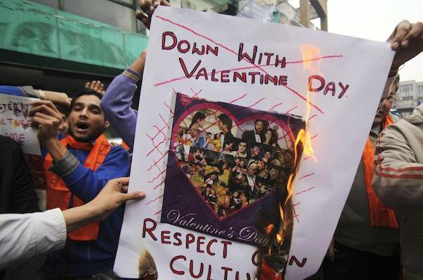 Nhiều quốc gia kì thị ngày valentine