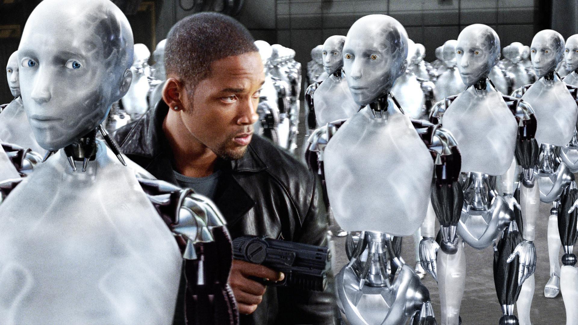 """Cảnh trong bộ phim """"I, Robot"""""""