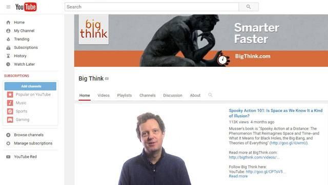 The Big Think