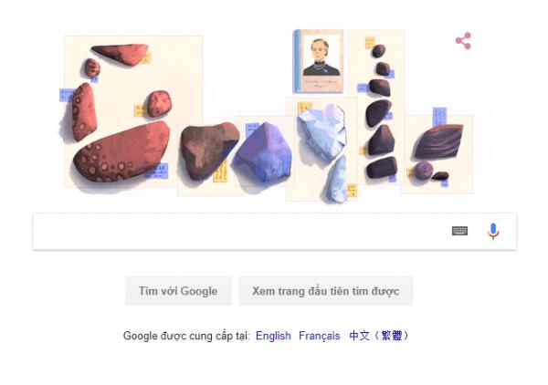 Logo Google hôm nay: kỷ niệm 131 năm ngày sinh của Elisa Leonida Zamfirescu