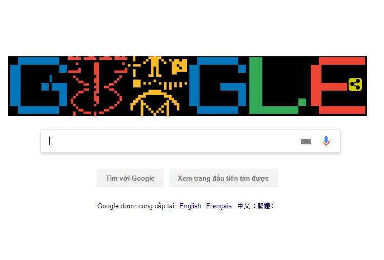 Google đổi logo về Arecibo