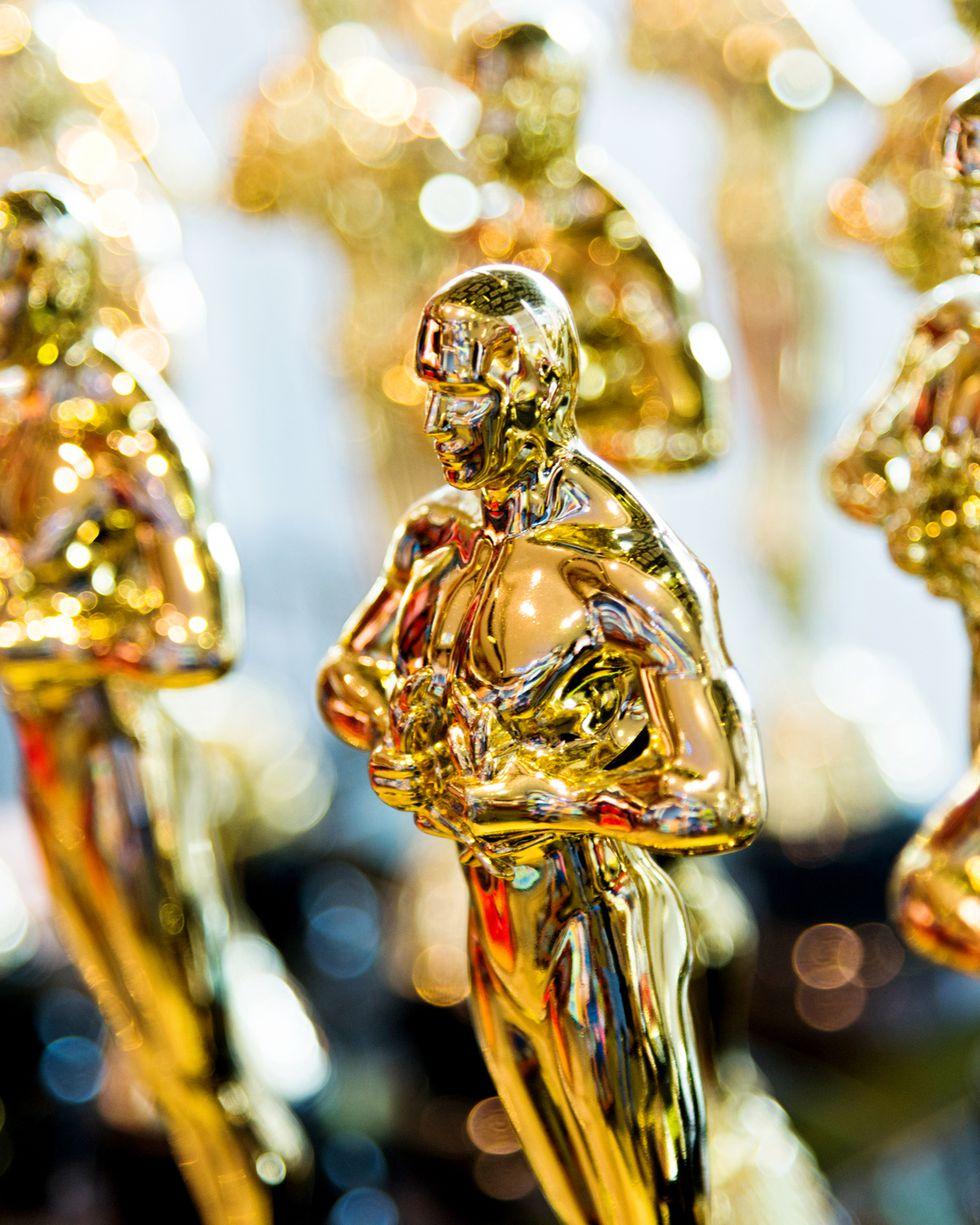 Tượng vàng Oscar - Ảnh: Town & Country Magazine