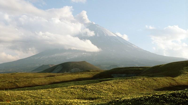 Có núi lửa đang hoạt động lớn nhất