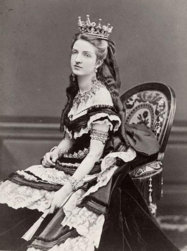 Chân dung nữ hoàng Margherita (nguồn: Wikipedia).