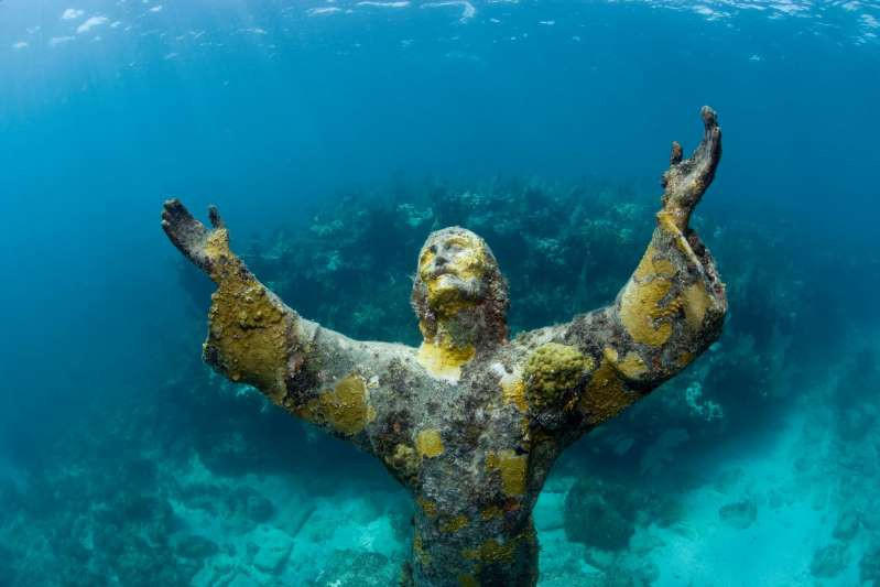 Christ of the Abyss ở Florida