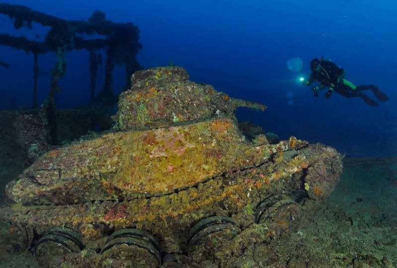 Lòng chảo Chuuk (hay Truk) ở Micronesia