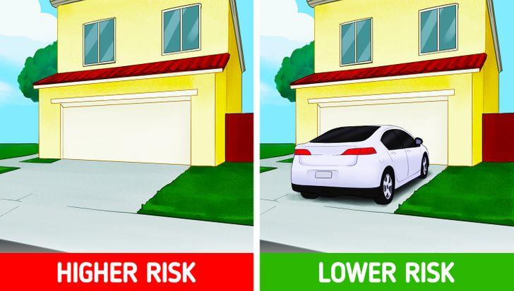 Đỗ xe trước nhà của bạn