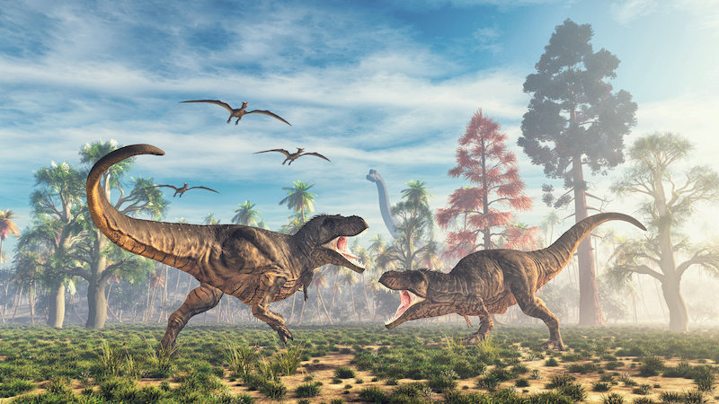 Khủng long bạo chúa T-Rex. Ảnh © allvision / stock.adobe.com