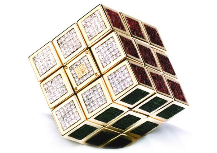 The Masterpiece Cube Rubik's Cube   HushHush.com