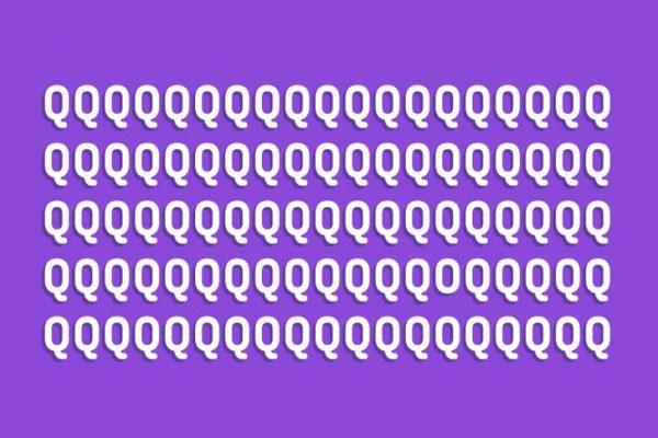 Tìm chữ O trong hình nhé