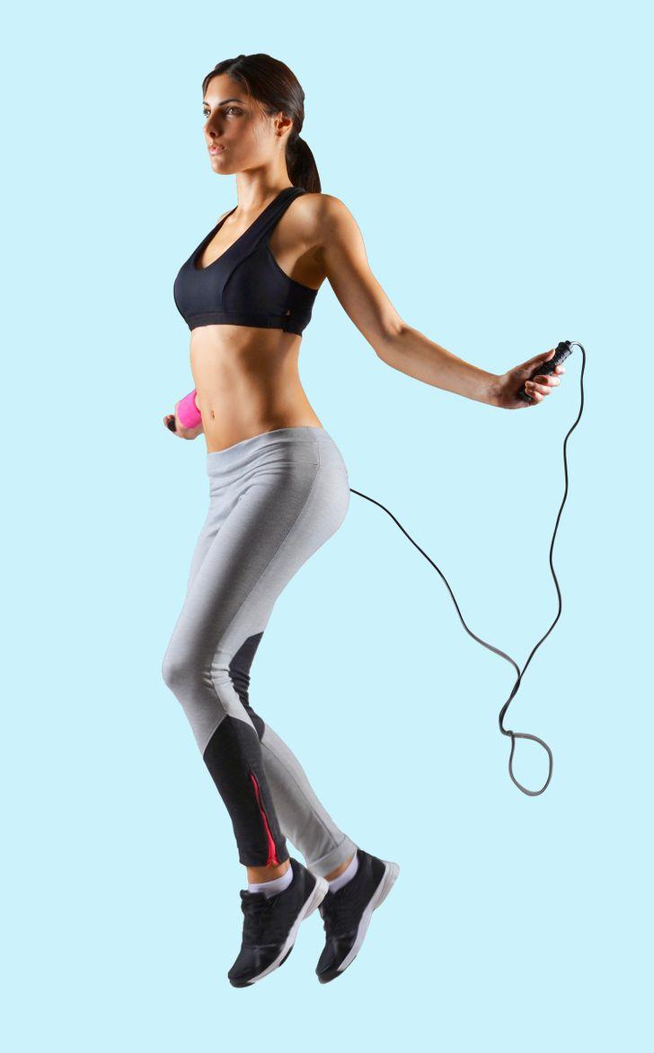 Bài tập khởi động kỳ diệu: nhảy dây
