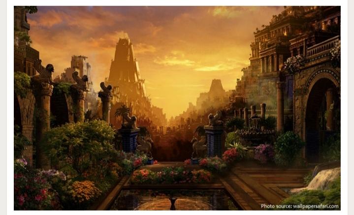 Vườn treo Babilon và sự thật ít ai biết đến