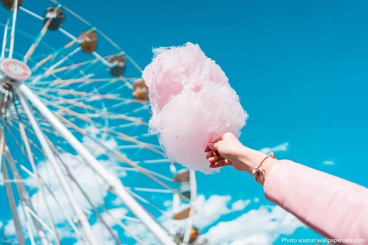 Những điều thú vị về món kẹo bông
