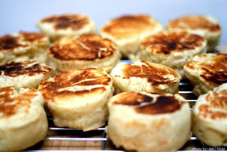 Bánh nướng xốp muffins kiểu Anh