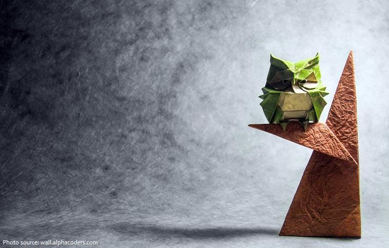 Nghề thuật gấp giấy origami