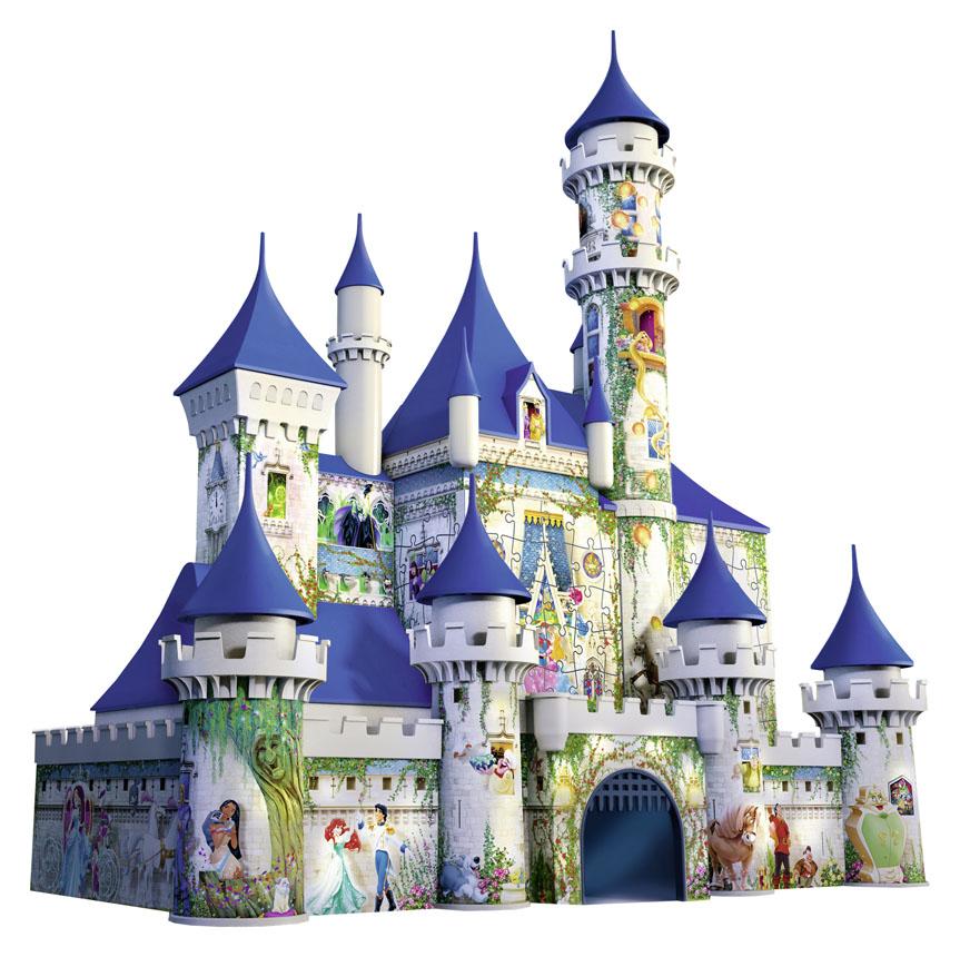 Trò chơi ghép hình 3D hình lâu đài Disney