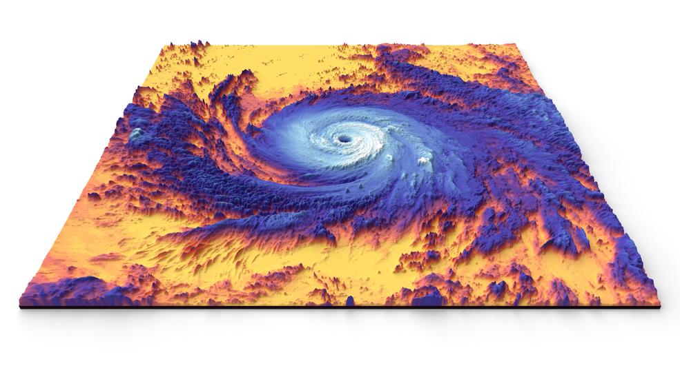 Đài quan sát Hệ thống Trái đất mới của NASA sẽ hướng dẫn các nỗ lực liên quan đến biến đổi khí hậu, giảm nhẹ thiên tai, chữa cháy rừng và cải thiện quy trình nông nghiệp theo thời gian thực - bao gồm cả việc giúp hiểu rõ hơn về các cơn bão cấp 4 đến 5 như Bão Maria, được hiển thị ở đây trong ảnh nhiệt năm 2017 được chụp bởi vệ tinh Terra của NASA.<br /> Ảnh: NASA