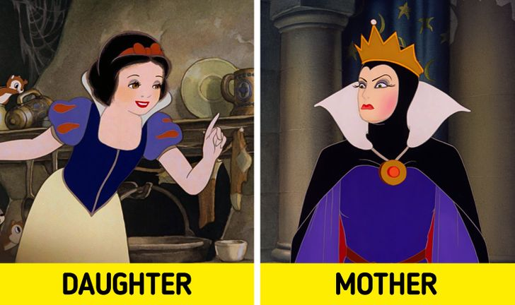 Trên thực tế, mẹ của Bạch Tuyết không chết khi sinh ra cô, mà đúng hơn, bà thực sự là Nữ hoàng Ác ma và mẹ ruột của cô