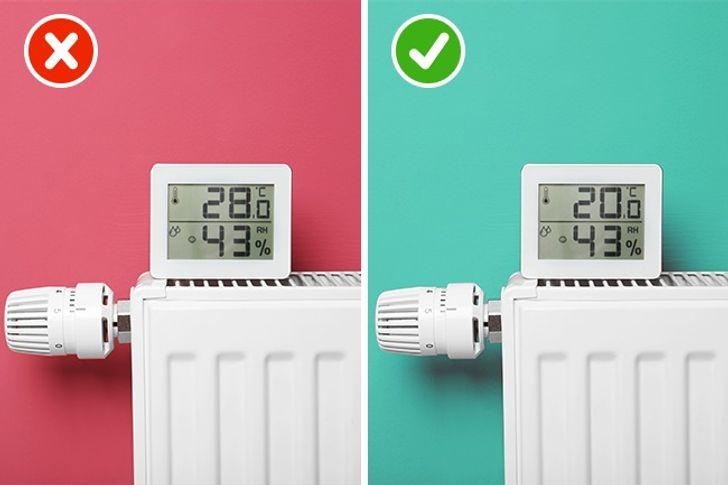 Mặc dù chìm vào giấc ngủ trong hơi ấm rất dễ chịu, nhưngnhiệt độ tối ưu là 60-75°F (15-23°C).