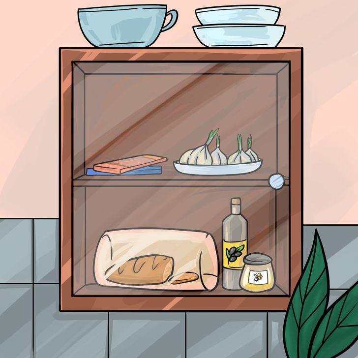 Những thực phẩm nên cất trong tủ và tránh ánh sáng mặt trờ, không nên để trong tủ lạnh