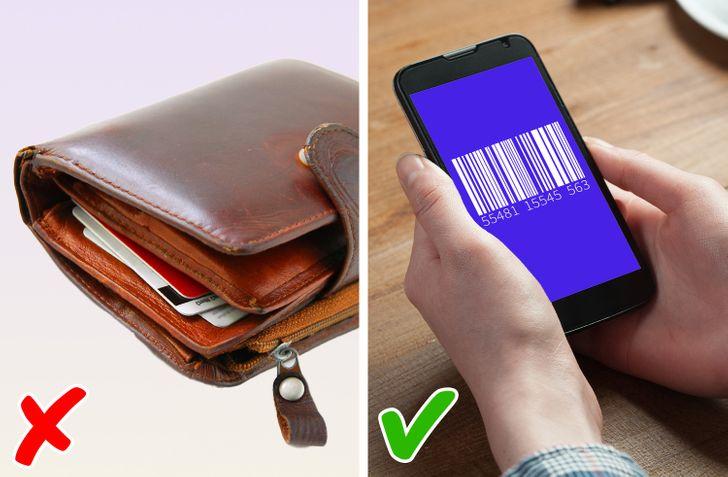 Chụp ảnh mã vạch ở mặt sau cũng như mặt trước của thẻ và đưa cho nhân viên bán hàng để nhận ưu đãi thôi.
