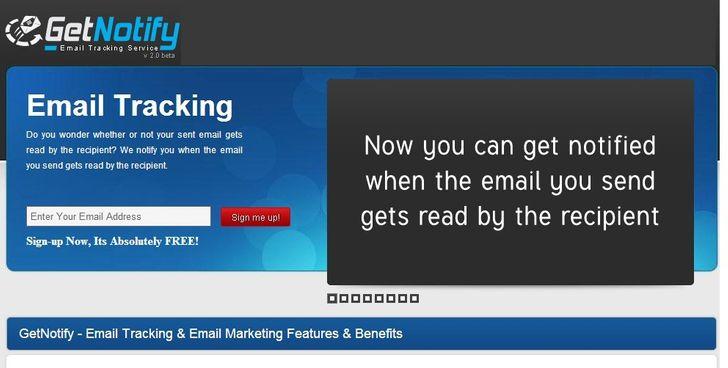 Trang web nhỏ này theo dõi xem email bạn gửi có được người nhận mở và đọc hay không.