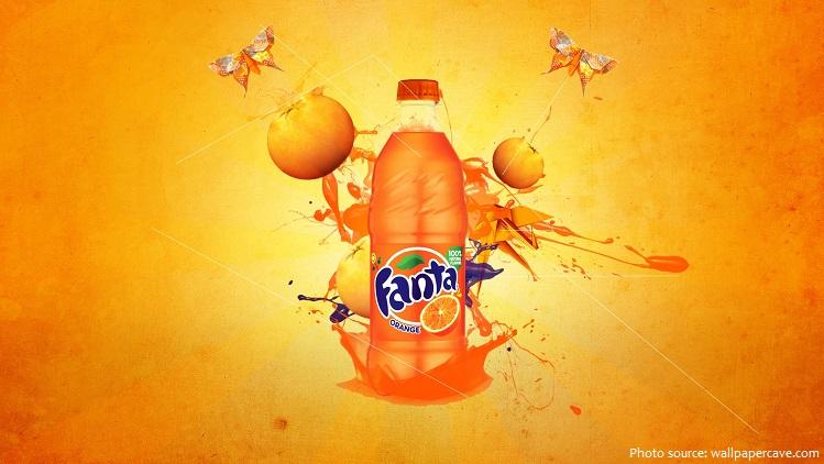 Cáctên 'Fanta'được đưa ra trong một cuộc thi người lao động đặt tên cho nước giải khát mới.