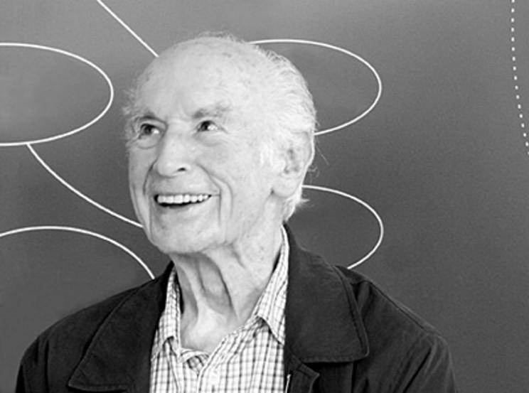 Albert Hofmann ở tuổi 100. Ảnh: Wikimedia Commons