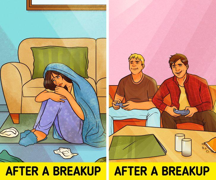 Khi nói đến chia tay, một nghiên cứu chothấy phụ nữ tìm ra nhiều lý do hơn để giải thích tại sao mọi thứ không như ý