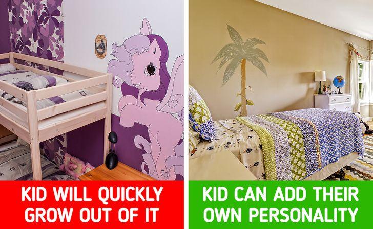 - Đứa trẻ sẽ nhanh chóng không để như vậy khi chúng trưởng thành - Chúng sẽ thêm vào đó sự cá tính riêng của mình