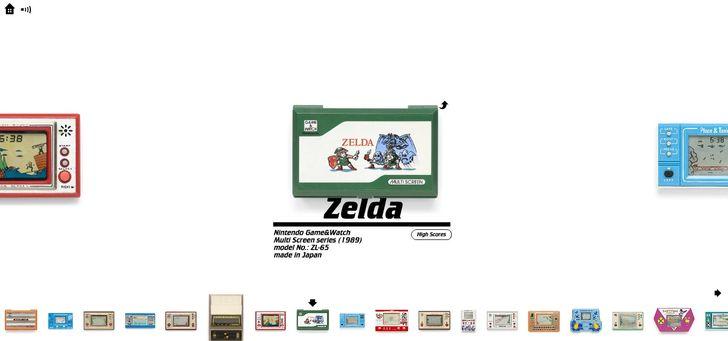 Tuyển chọn các trò chơi điện tử cầm tay tuyệt vời được kỹ thuật số hóa từ khắp nơi trên thế giới.