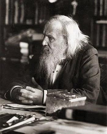 Dmitri Mendeleev năm 1897